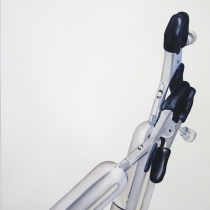 Julie Chovin Object 3.05, watercolour on paper, 110 cm x 85 cm, 2010