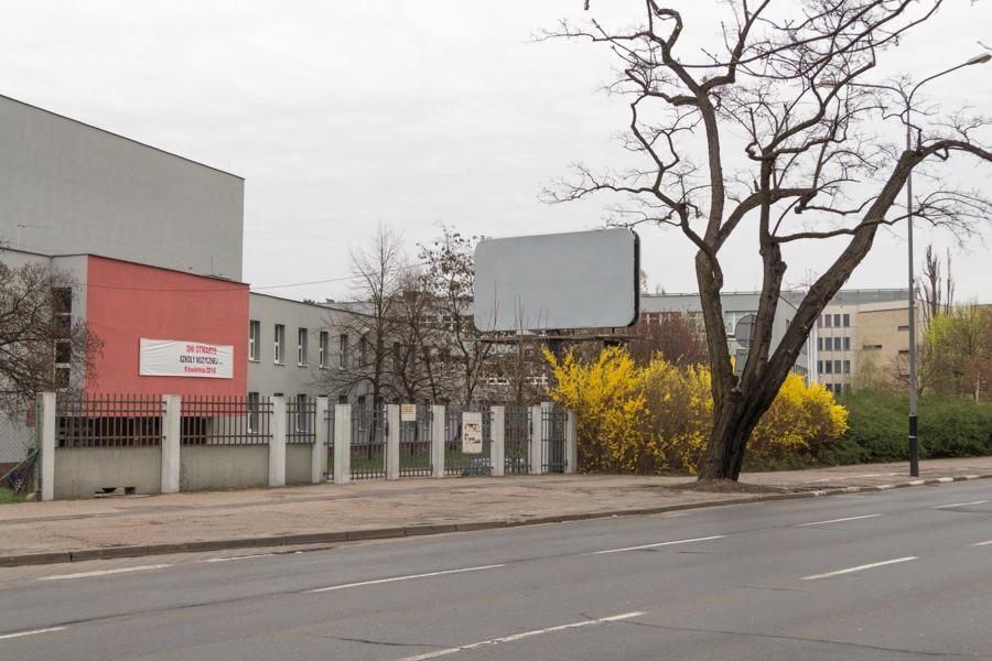 Interstices, aleja Niepodległości Digital photography, Poznan, April 2016.
