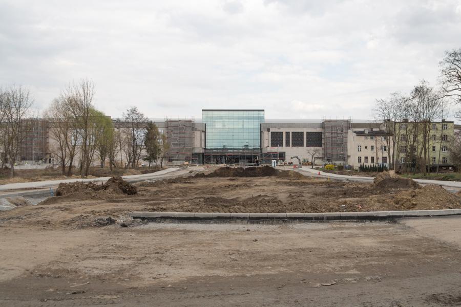 Interstices, Posnania (Łacina's castle) Digital photography, Poznan, April 2016.