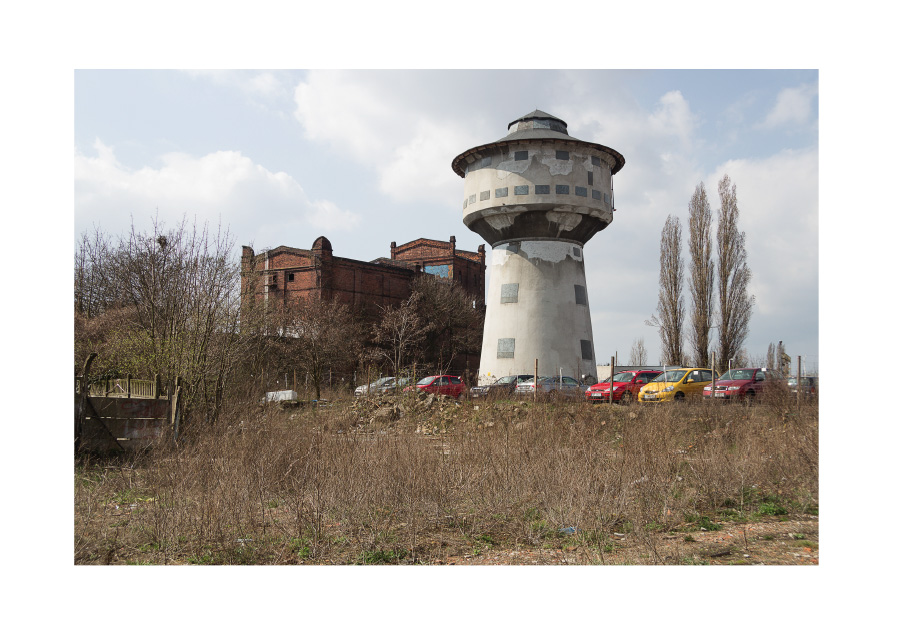 Interstices, Watertower digital photography, Poznan, April 2016.